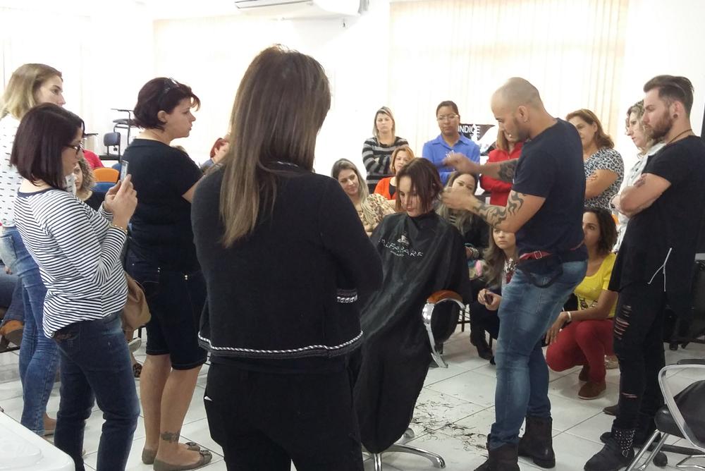 Curso Color Connection em Florianópolis, com Agnelo Souza.